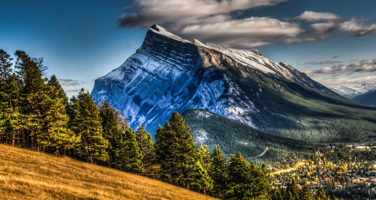 Banff and Mt. Rundle